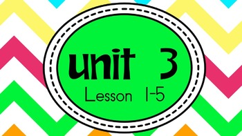 Engage NY Skills Unit 3 Lessons 1-5