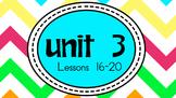 Engage NY Skills Unit 3 Lessons 16-20