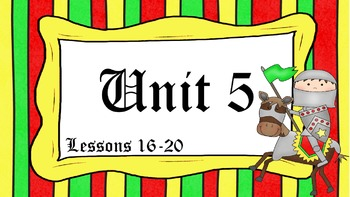 Engage NY Skills Unit 5 Lessons 16 - 20