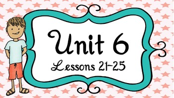 Engage NY Skills Unit 6 Lessons 21-25