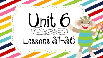 Engage NY Skills Unit 6 Lessons 31-36