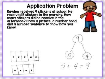 Engage NY (Eureka Math) Presentation 1st Grade Module 1 Lesson 8