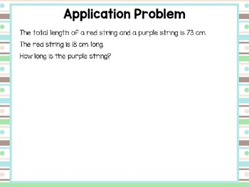 Engage NY/Eureka Math PowerPoint Presentation 2nd Grade Module 4 Lesson 14