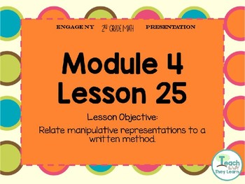 Engage NY Smart Board 2nd Grade Module 4 Lesson 25
