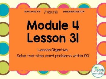 Engage NY Smart Board 2nd Grade Module 4 Lesson 31