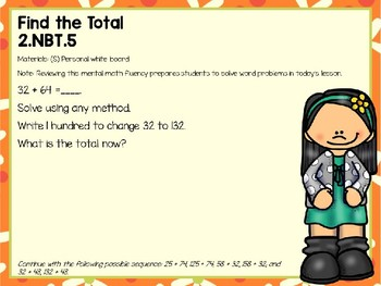 Engage NY (Eureka Math) Presentation 2nd Grade Module 4 Lesson 31