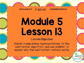 Engage NY Smart Board 2nd Grade Module 5 Lesson 13