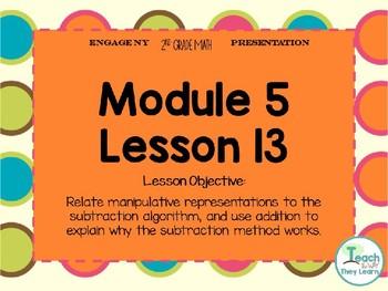 Engage NY (Eureka Math) Presentation 2nd Grade Module 5 Lesson 13