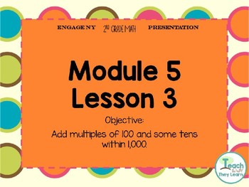 Engage NY Smart Board 2nd Grade Module 5 Lesson 3