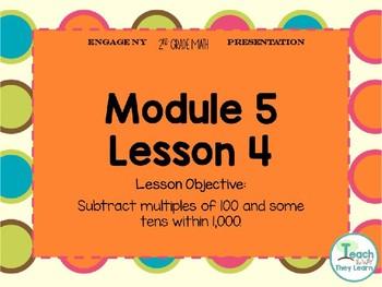 Engage NY/Eureka Math PowerPoint Presentation 2nd Grade Module 5 Lesson 4