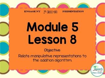 Engage NY (Eureka Math) Presentation 2nd Grade Module 5 Lesson 8