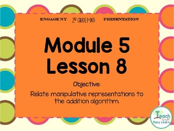 Engage NY Smart Board 2nd Grade Module 5 Lesson 8