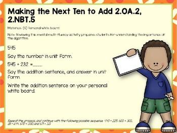 Engage NY (Eureka Math) Presentation 2nd Grade Module 5 Lesson 9