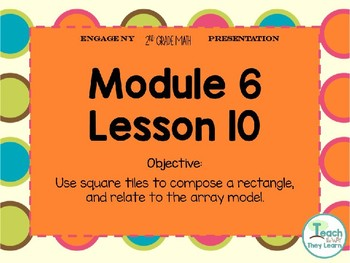 Engage NY Smart Board 2nd Grade Module 6 Lesson 10