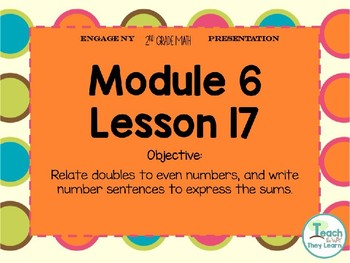 Engage NY Smart Board 2nd Grade Module 6 Lesson 17