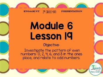 Engage NY/Eureka Math PowerPoint Presentation 2nd Grade Module 6 Lesson 19