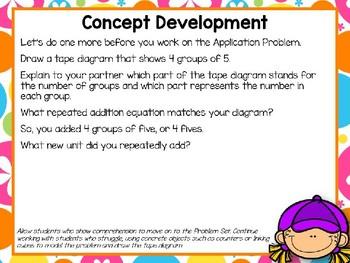 Engage NY (Eureka Math) Presentation 2nd Grade Module 6 Lesson 4