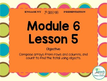 Engage NY Smart Board 2nd Grade Module 6 Lesson 5