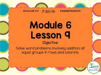 Engage NY Smart Board 2nd Grade Module 6 Lesson 9