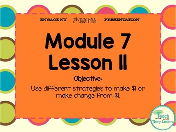 Engage NY Presentation 2nd Grade Module 7 Lesson 11