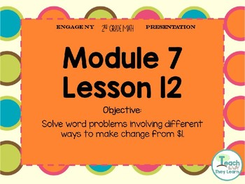 Engage NY Smart Board 2nd Grade Module 7 Lesson 12