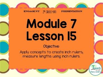 Engage NY/Eureka Math PowerPoint Presentation 2nd Grade Module 7 Lesson 15