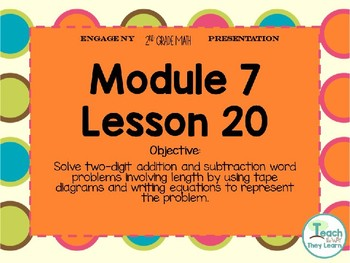 Engage NY Smart Board 2nd Grade Module 7 Lesson 20