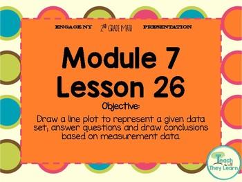 Engage NY (Eureka Math) Presentation 2nd Grade Module 7 Lesson 26