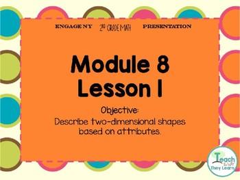 Engage NY Smart Board 2nd Grade Module 8 Lesson 1