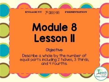 Engage NY/Eureka Math PowerPoint Presentation 2nd Grade Module 8 Lesson 11
