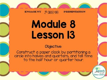 Engage NY Smart Board 2nd Grade Module 8 Lesson 13