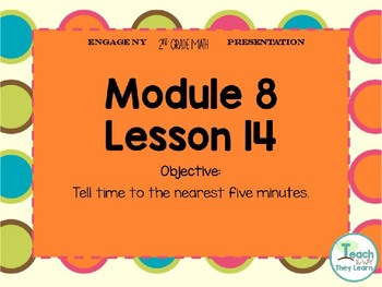 Engage NY Smart Board 2nd Grade Module 8 Lesson 14