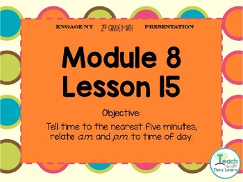 Engage NY Smart Board 2nd Grade Module 8 Lesson 15