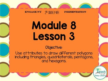 Engage NY Smart Board 2nd Grade Module 8 Lesson 3