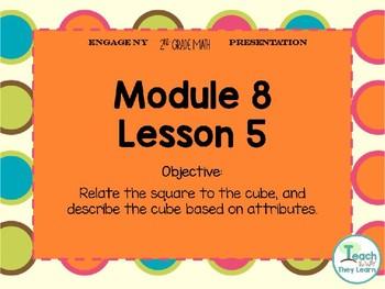 Engage NY Smart Board 2nd Grade Module 8 Lesson 5