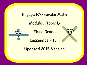 Engage NY Smart Board Lesson 3rd Grade Math Module 1 Topic D