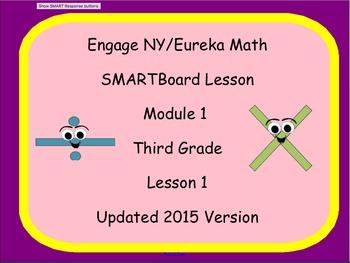 Engage NY Smart Board Lesson 3rd Grade Math Module 1 Lesson 1