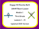 Engage NY Smart Board Lesson 3rd Grade Module 1 Lessons 1-21