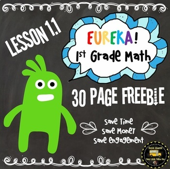 Eureka Math Engage NY FREEBIE Supplemental Material 1st Grade Lesson 1.1