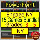 Engage NY Test Prep for English Language Arts - 15 Reading Games Grades 3 - 5