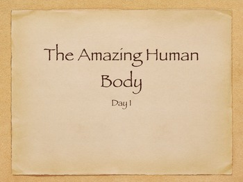 Engage NY The Human Body Day 1