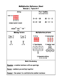 Engage NY Third Grade Multiplication Reference Sheet