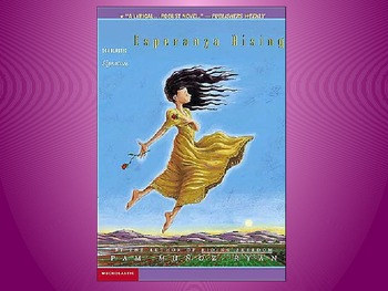 Engage NY Unit 2 Lesson 6 on Esperanza Rising