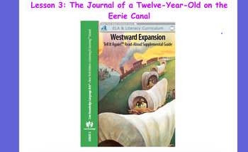 Engage NY Westward Expansion Lesson 3