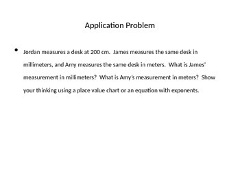 Engage NY fifth grade Math Module 1 Lesson 5
