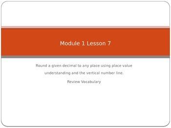Engage NY fifth grade Math Module 1 Lesson 7
