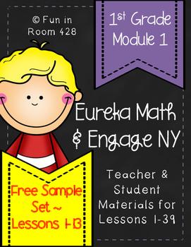 Engage NY/Eureka Math 1st Grade Mod 1 Lessons 1-13