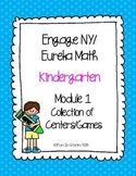 Engage NY/Eureka Math Kindergarten Mod 1 Collection of 8 Games/Centers