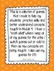 Engage NY/Eureka Math Kindergarten Mod 4 Game/Center Collection