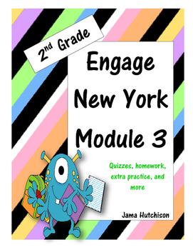 Engage New York (aka Eureka Math) 2nd Grade Module 3 Bundle